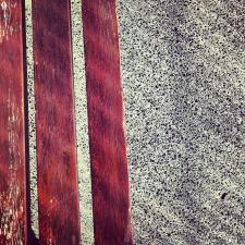 hormigon y madera